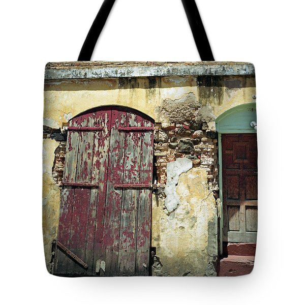 The Doors Of San Juan Tote Bag