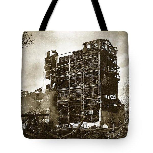 The Dorrance Breaker Wilkes Barre Pa 1983 Tote Bag