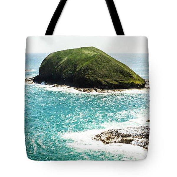 The Doughboys Island Landscape Tote Bag