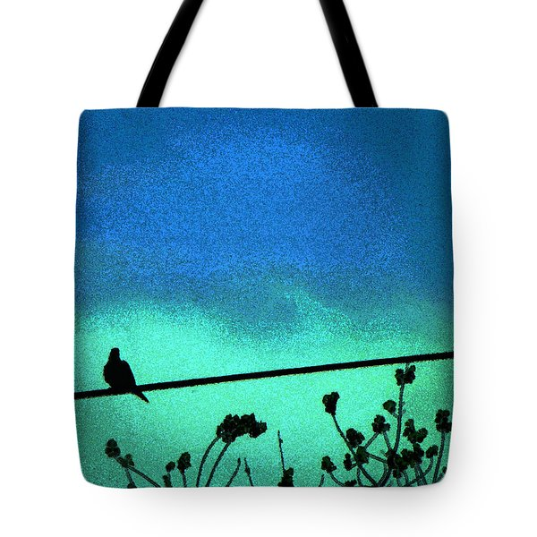 The Dove Above 2 Tote Bag