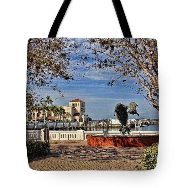The Downtown Bradenton Waterfront Tote Bag