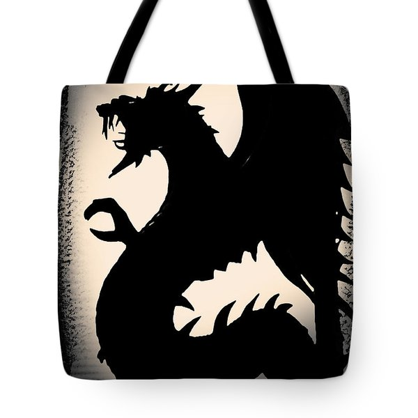 Tote Bag featuring the photograph The Dragon by Gerlinde Keating - Galleria GK Keating Associates Inc