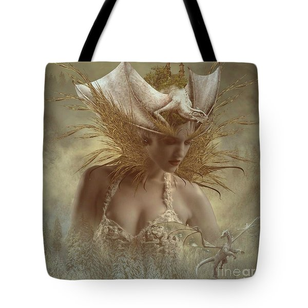The Dragon Keeper Tote Bag