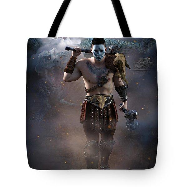 The Dragon Master Tote Bag