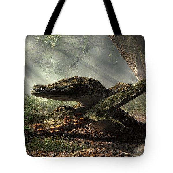 The Dragon Of Brno Tote Bag