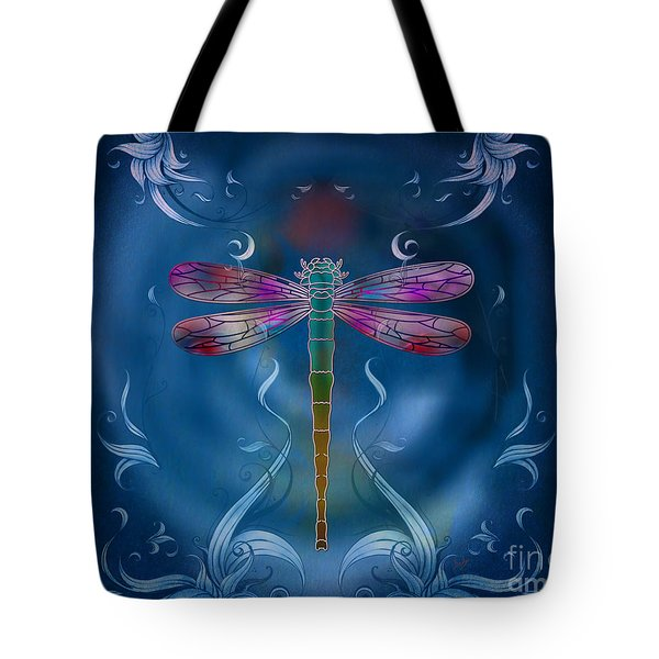 The Dragonfly Effect Tote Bag