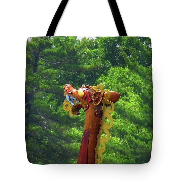 The Draken's Head Tote Bag