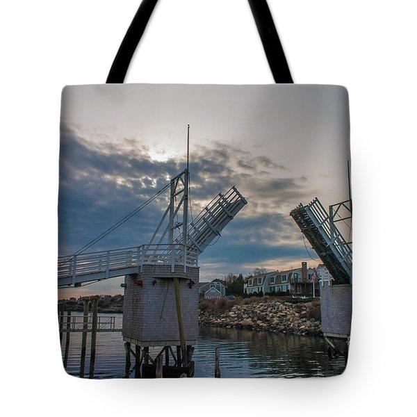 The Drawbridge Tote Bag by David Bishop