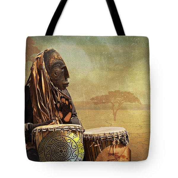 The Dream Of His Drums Tote Bag