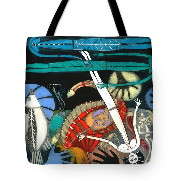 The Dream Of The Fish Tote Bag by Annael Anelia Pavlova