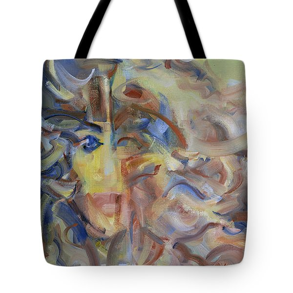 The Dream Stelae / Nefertiti Tote Bag
