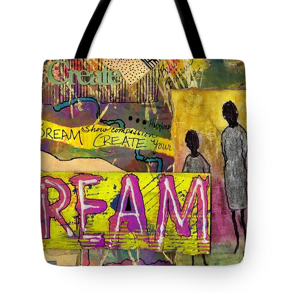 The Dream Trio Tote Bag