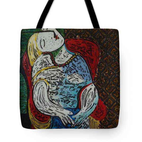 The Dream Walker -le Reve Zombi  Tote Bag