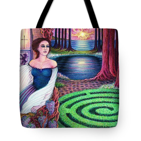 The Dreamer Tote Bag by Debra A Hitchcock