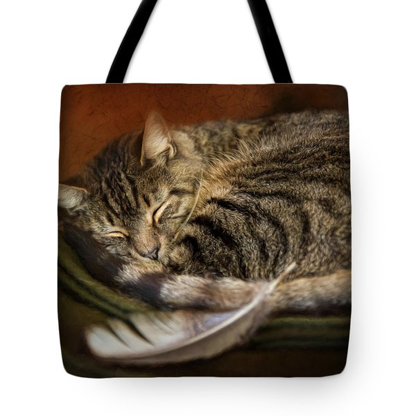 Tote Bag featuring the photograph The Dreamer by Robin-Lee Vieira