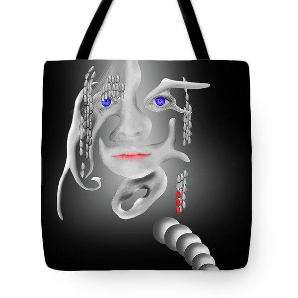 Tote Bag featuring the digital art The Dreamer by Scott Cordell