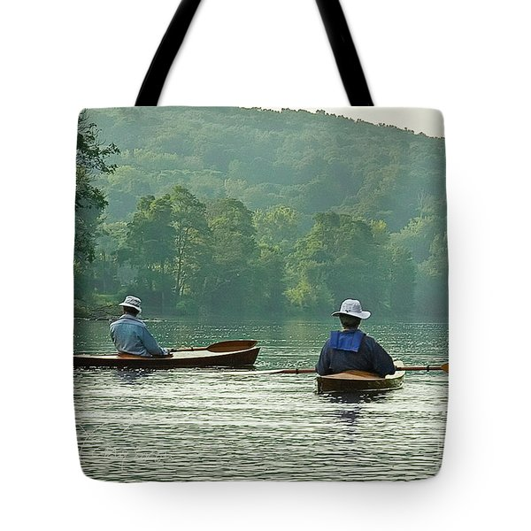 The Dreamers Tote Bag by Tom Cameron
