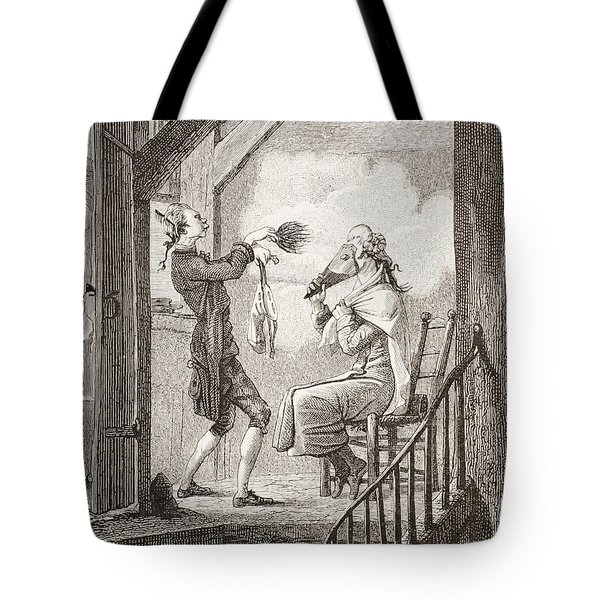 The Dressing Of The Attorney S Clerk Tote Bag