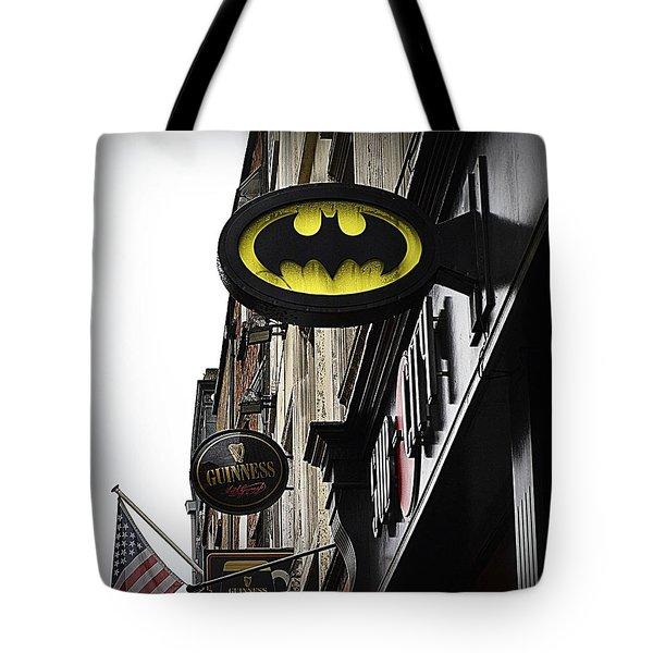The Drink Of Super Heroes Tote Bag by Nadalyn Larsen