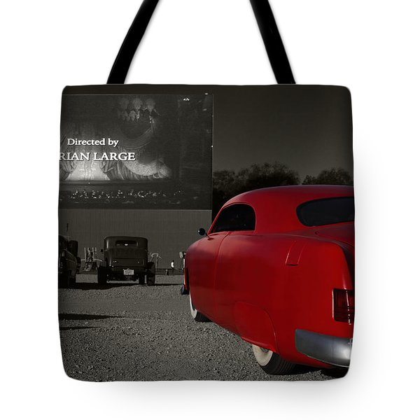 The Drive-in Tote Bag