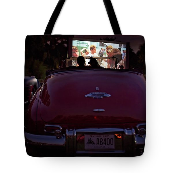 The Drive- In Tote Bag