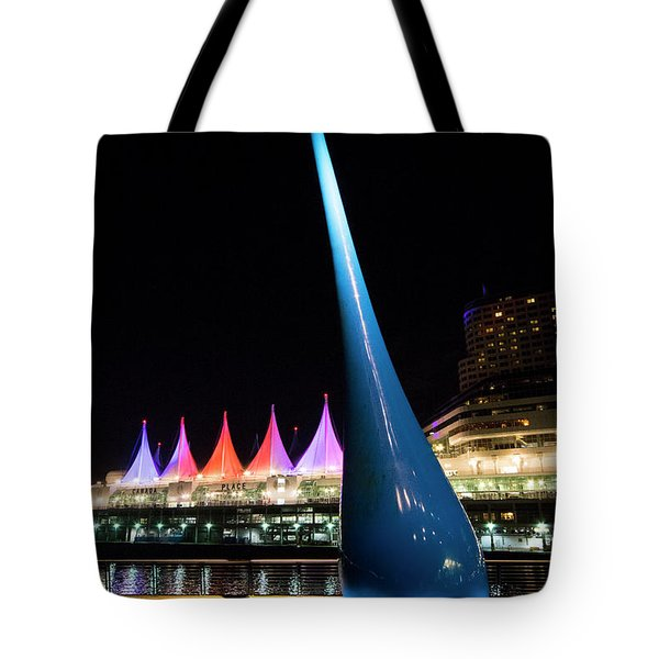 Tote Bag featuring the photograph The Drop by Ross G Strachan
