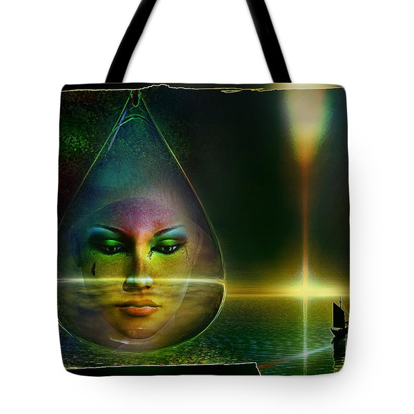 The Drop Tote Bag