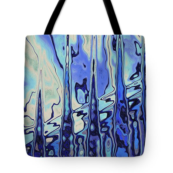 Tote Bag featuring the digital art The Drowsy Conversation by Wendy J St Christopher