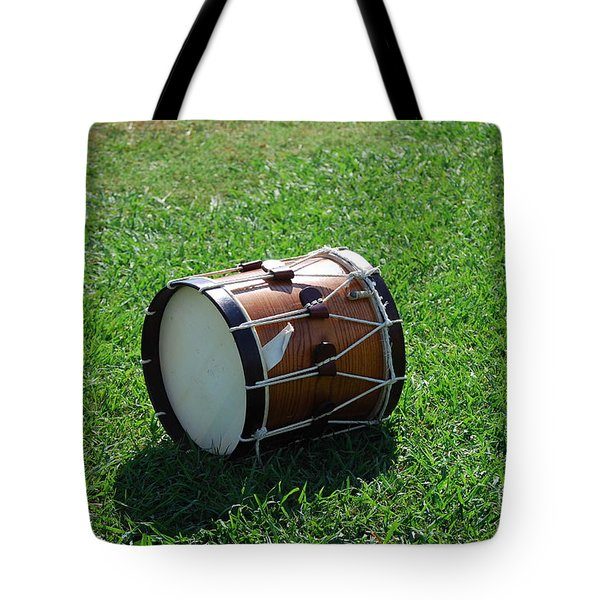Tote Bag featuring the photograph The Drum by Eric Liller