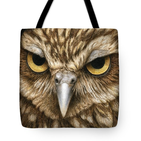 The Dubious Owl Tote Bag