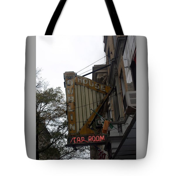 The Dublin House Tap Room Tote Bag