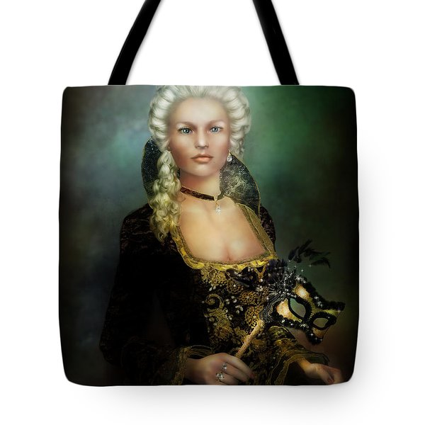 The Duchess Tote Bag by Mary Hood