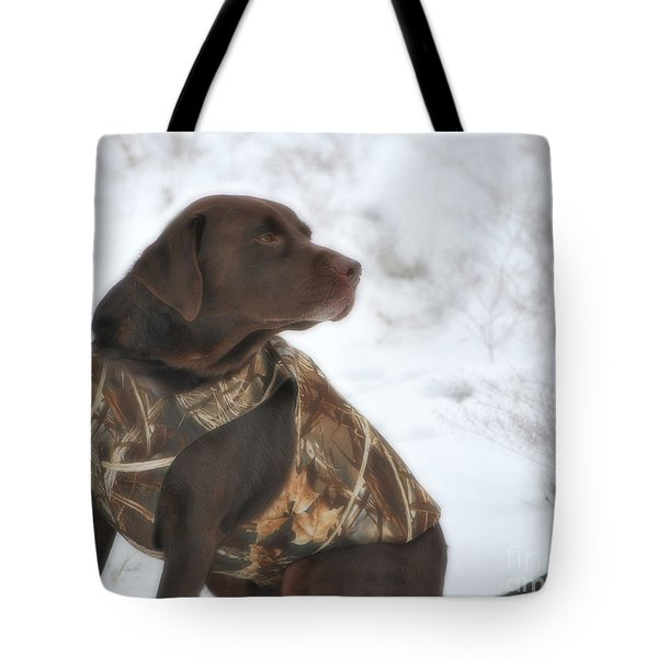 The Duck Dog Iv Tote Bag