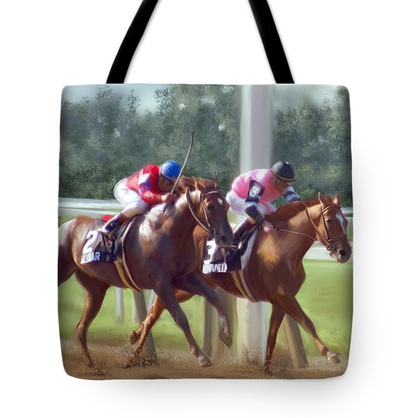 The Duel Tote Bag