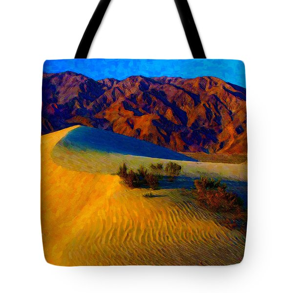 The Dunes At Dusk Tote Bag