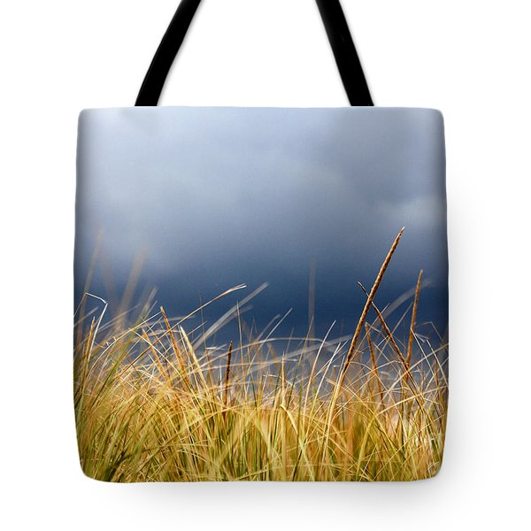 Tote Bag featuring the photograph The Tall Grass Waves In The Wind by Dana DiPasquale