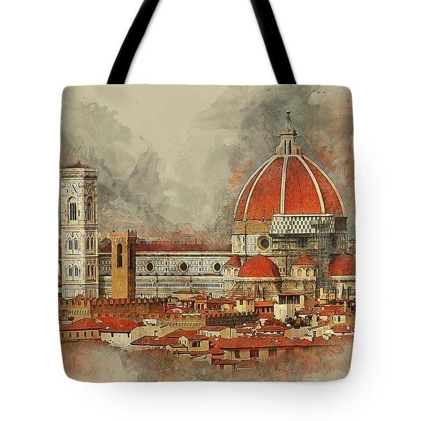 The Duomo Florence Tote Bag