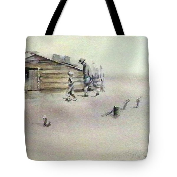 The Dustbowl Tote Bag by Ed Heaton