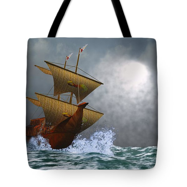 The Eagle Tote Bag by Corey Ford