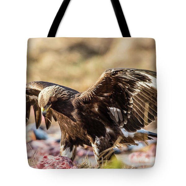 The Eagle Have Come Down Tote Bag by Torbjorn Swenelius