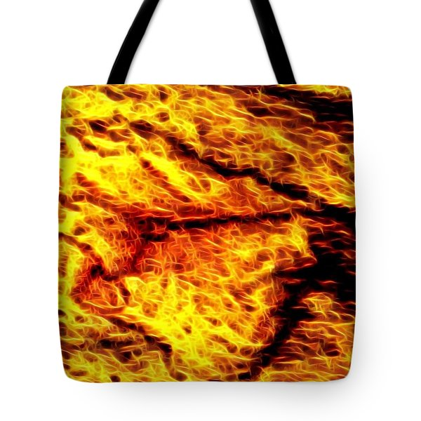 The Eagle Is Angry Tote Bag