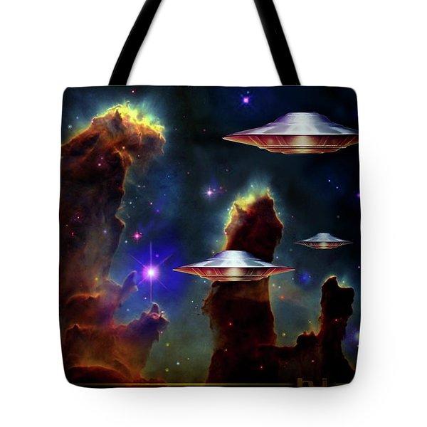The  Eagle  Nebula  Tote Bag