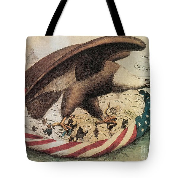 The Eagles Nest, 1861 Tote Bag