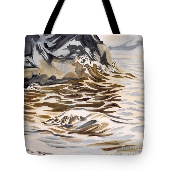 The Eagles Nest At Gower Point Tote Bag