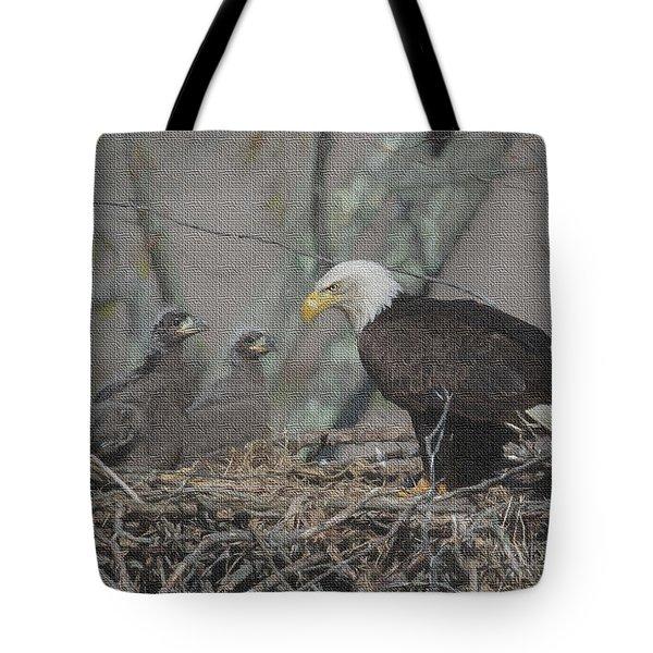 The Eaglets Tote Bag