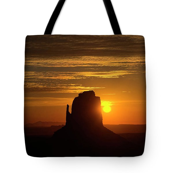 The Earth Awakes Tote Bag