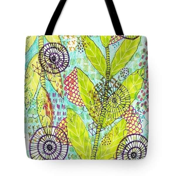The Earth Dances Tote Bag
