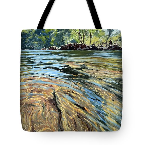 The East Dart River Dartmoor Tote Bag