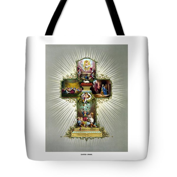 The Easter Cross Tote Bag