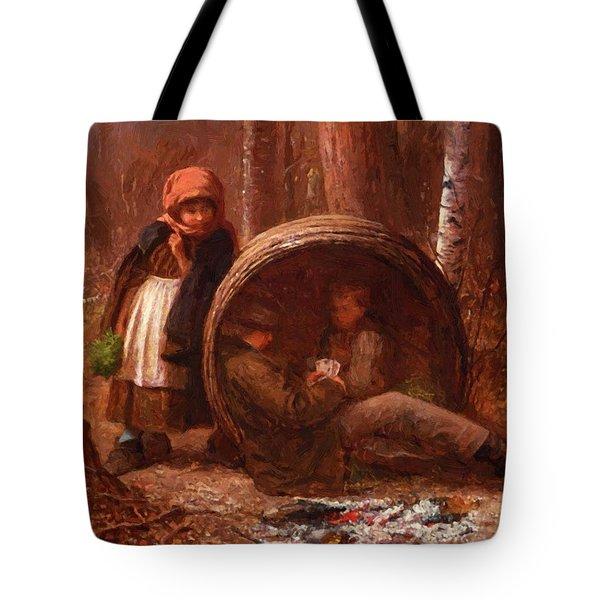 The Eavesdropper 1866 Tote Bag